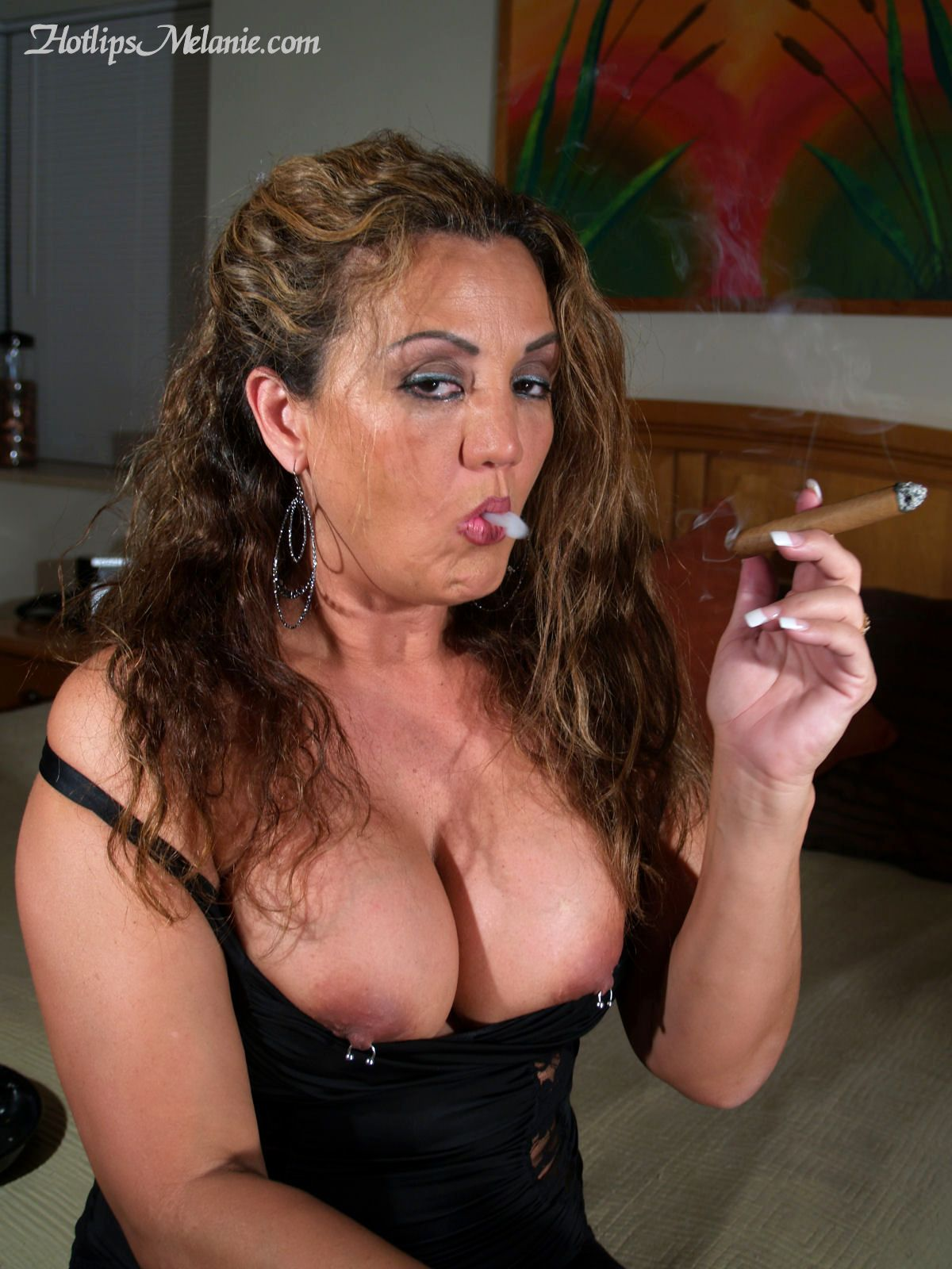 big tit smoking cigg sex