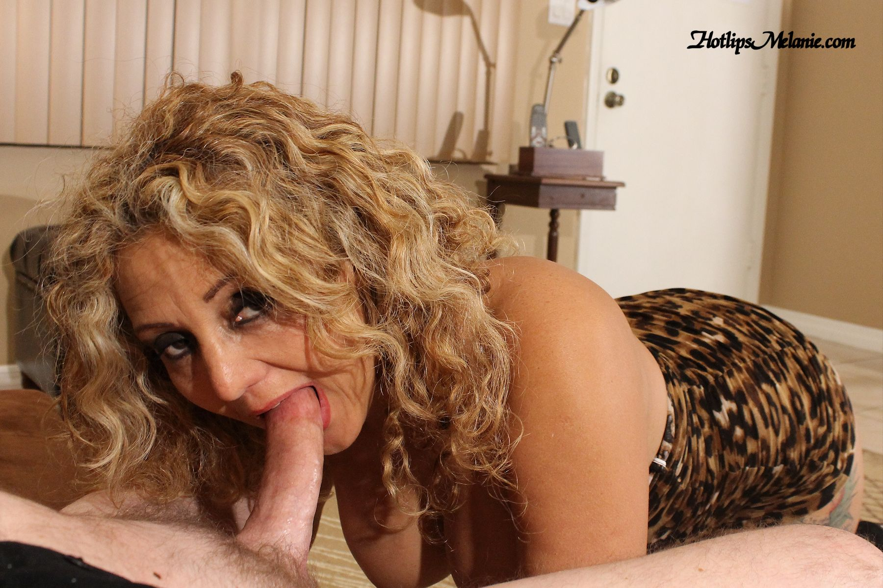 Milf sucking and fucking hard